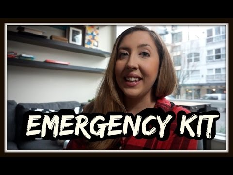 EARTHQUAKE (EMERGENCY) SURVIVAL KIT - BUDGET