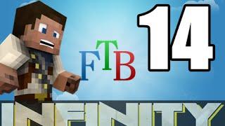 ★ Ftb Infinity Modpack |14 | Planter | Harvester | Metal Former |new Mod Pack
