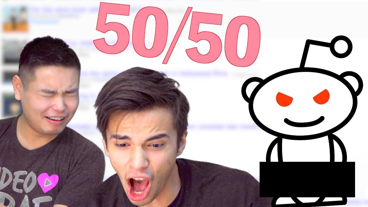 Reddit 50 50 18+