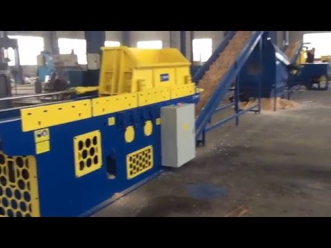 Enerpat Wood Shaving Machine And Baling Machine For Horse Bedding