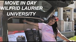College Move In Day Vlog 2018! || Wilfrid Laurier University