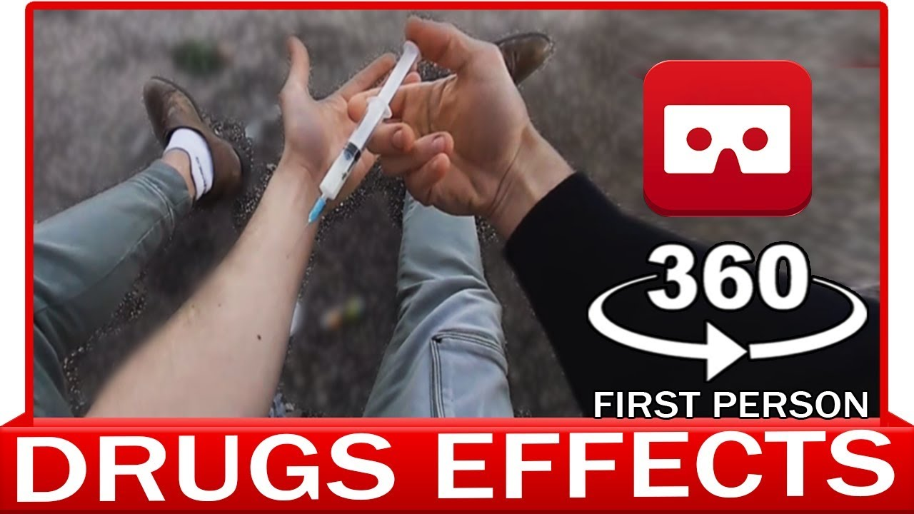 360° VR VIDEO - DRUGS EFFECT - Experience in First Person View - T2 TRAINSPOTTING (sensibilisation)