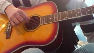 En cloque Renaud guitare