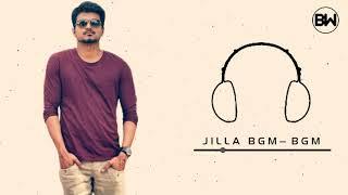 Jilla Mass Bgm   Vijay   BGM WORLD