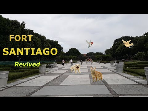( FULL HD ) THE FORT SANTIAGO MANILA, PHILIPPINES 2018 Revived (new)