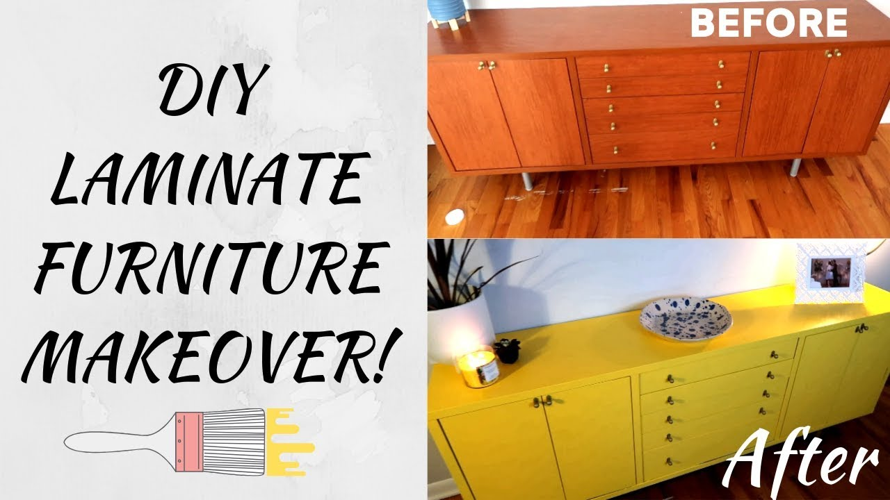 Paint Laminate Furniture Mid Century