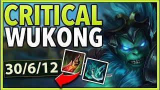 Download RANK 1 WUKONG REWORKED CRITICAL BUILD (LEGIT ONE SHOTS) - League of Legends Mp3 and Videos