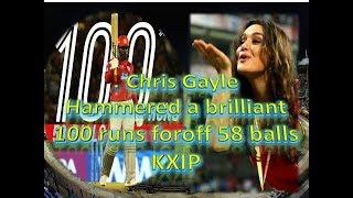 chris gayle batting in ipl 2018  !  chris gayle ipl 2018 highlights
