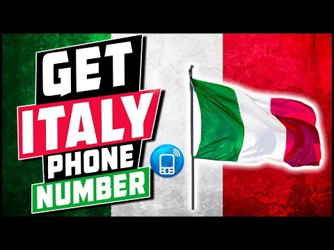 How To Get Italy Virtual Phone Number