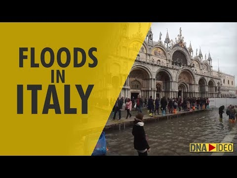 Floods in Venice, Rome as Italy hit by damaging weather