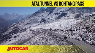 Tunnel Vision: Atal Tunnel vs Rohtang Pass route ft. Audi Q8 & RS Q8 | Feature | Autocar India
