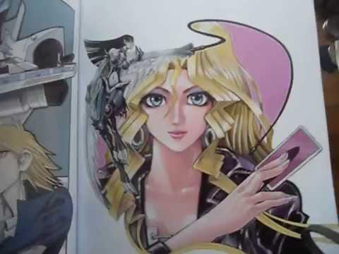Review #43-Yu-Gi-Oh! Duel Art by Kazuki Takahashi