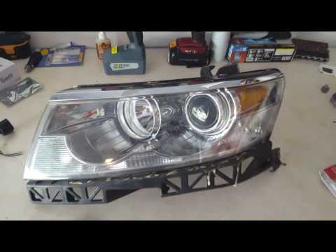 How to replace the high beam light on a lincoln mkz zephyr