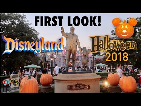 First Look! Halloween at Disneyland 2018
