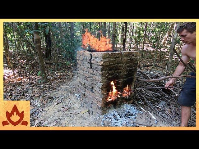 Primitive Technology: Brick Firing Kiln