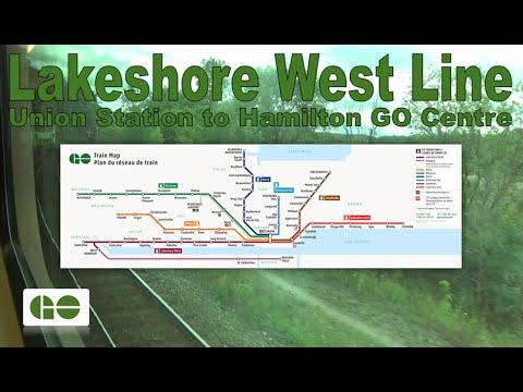 Lakeshore West Line - GO Transit 2014 Bombardier BiLevel VIII 2848 (Union to Hamilton Go Centre)