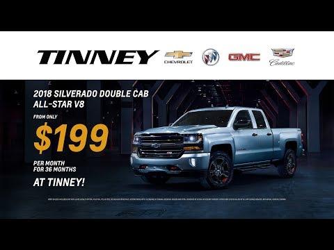 2018 Chevy Silverado Current Incentive Rebates   Tinney Automotive
