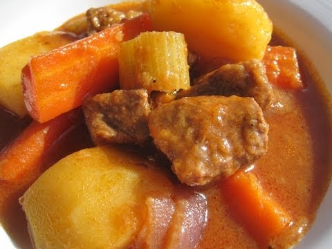 OLD FASHIONED BEEF STEW – How to make tender BEEF STEW Recipe