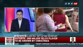 Top Story: DICT confirms 3rd telco known by December