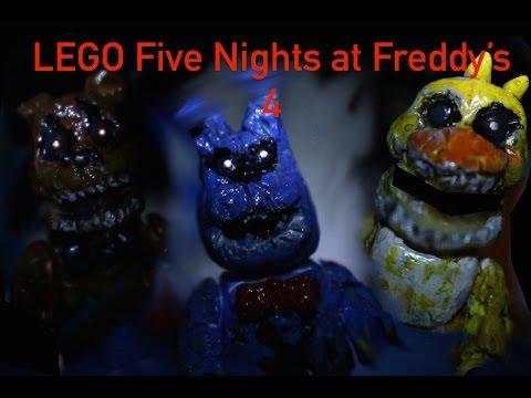 Lego five nights at freddy s 4 youtube