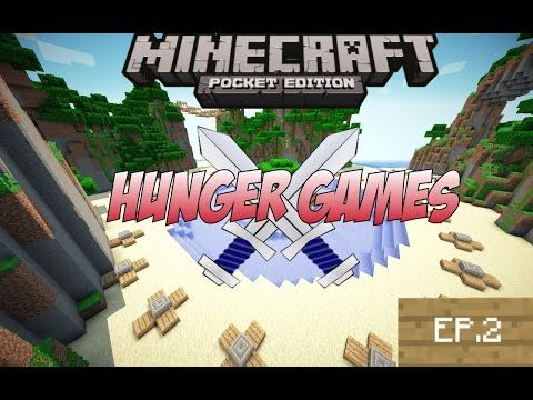 Minecraft Pe: Hunger Games | Hypixel Ep.2