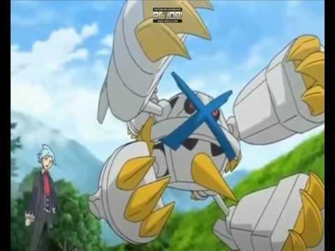 Pokemon Alain Mega Charizard X VS Steven Mega Metagross Amv Rebirthing