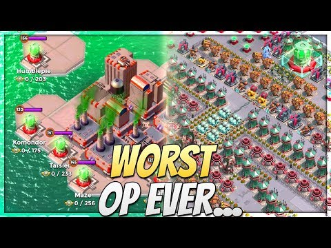 Boom Beach One of the HARDEST Operations for Deep Cut! Rejects Redux vs Worst Operation Bases!