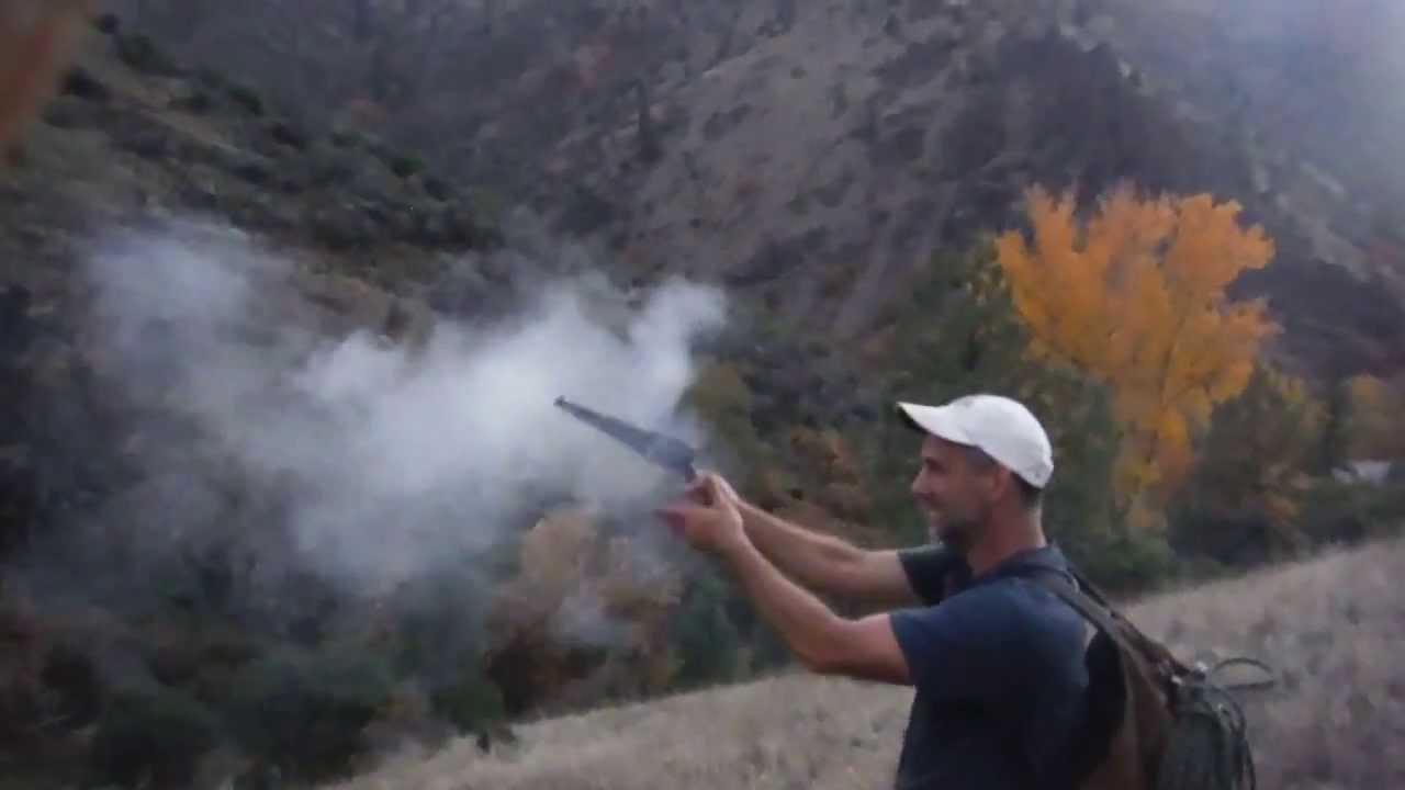 shooting black powder 44 caliber traditions replica revolver youtube