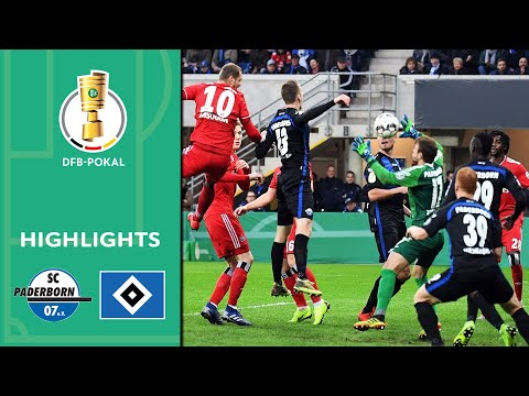 Lasogga Takes Hamburg To The Semi-final | Paderborn Vs. Hamburger SV 0-2 | Highlights | DFB-Pokal
