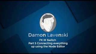 05 Part 5 Connecting everything up using the Node Editor
