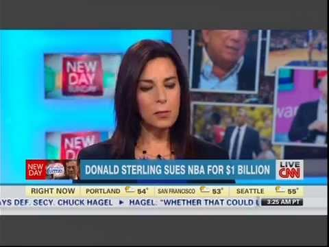 NBA's Donald Sterling Sues NBA. Legal Analysis with Attorney Janet Johnson