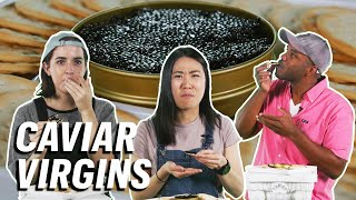 5 People Try Caviar For the First Time  First Timers