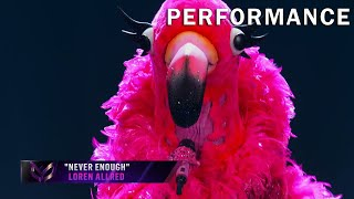 "Flamingo sings ""Never Enough"" by Loren Allred 
