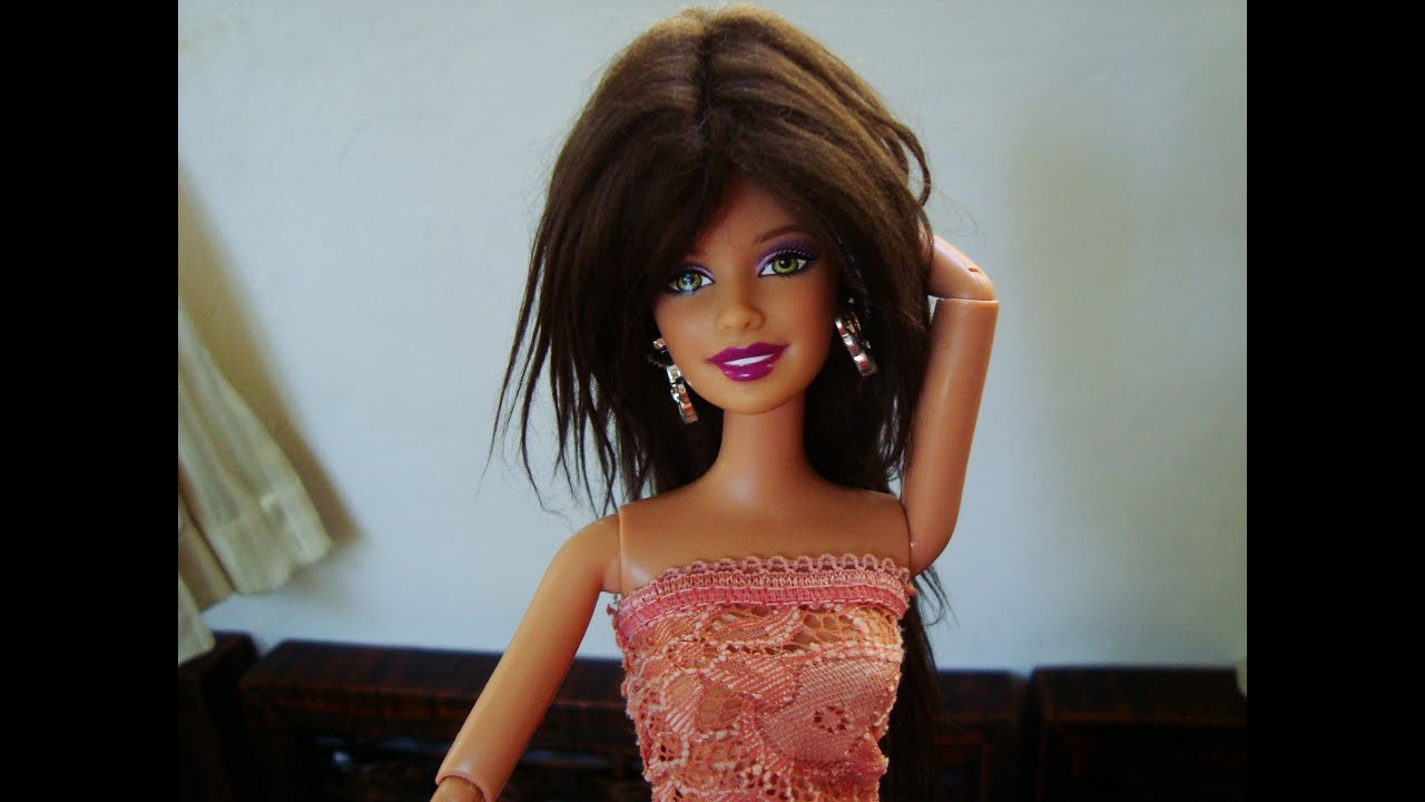 How to make a doll wig tutorial youtube how to make a doll wig tutorial baditri Image collections