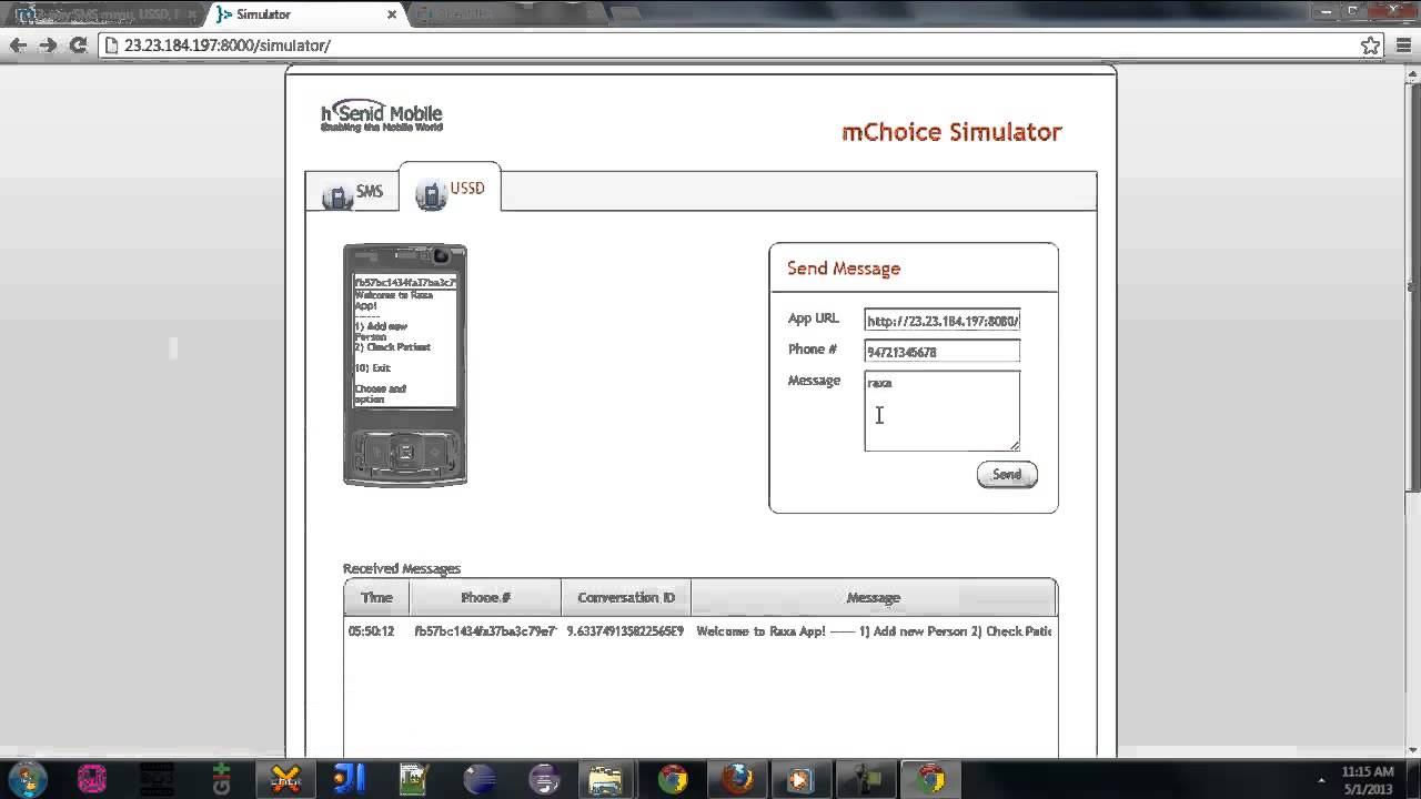 SMS, USSD Services for Patients - Documentation - OpenMRS Wiki
