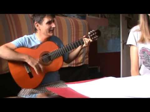 Chant Gitan des saintes maries de la mer  (niveau moyen)
