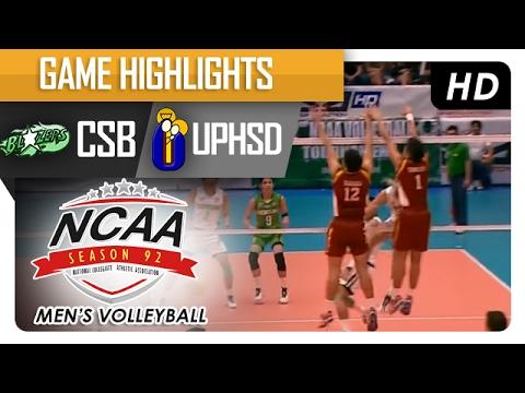 CSB vs UPHSD | Finals Game Highlights | NCAA 92 Men