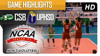 getlinkyoutube.com-CSB vs UPHSD | Finals Game Highlights | NCAA 92 Men's Volleyball