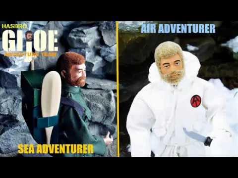 GI Joe Adventure Team - Adventurers Action Set
