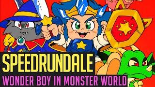 Wonder Boy in Monster World (Any%) Speedrun in 51:03 von Berlindude1 | Speedrundale