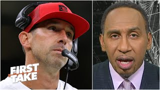 The 49ers better get this right! - Stephen A. on Kyle Shanahan and the No. 3 pick   First Take