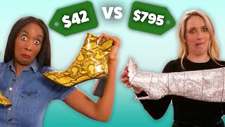 Guessing Cheap vs Expensive BOOTS! (Cheap vs Steep)