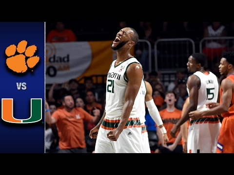 Clemson vs. Miami Men