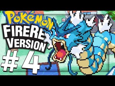 Pokemon FireRed: FINALLY GETTING MY GYARADOS! - PART 4