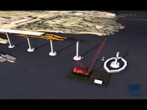 Jordan Bridge Construction Animation
