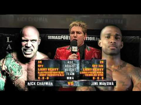 Nick 'Headhunter' Chapman Vs. Jimi Manuwa