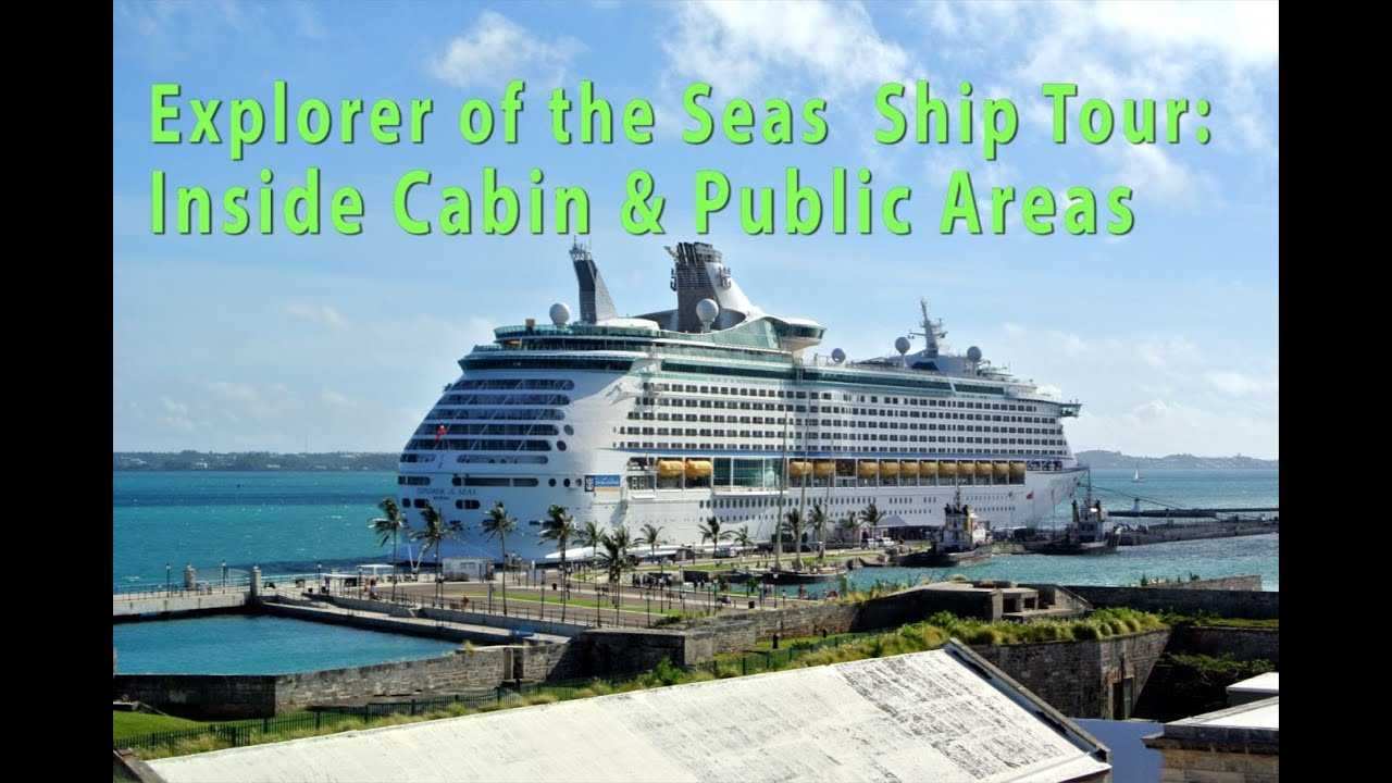 Explorer Of The Seas Ship Tour Incl Inside Cabin Youtube