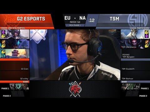 G2 vs TSM - Rift Rivals 2017 - G2 Esports vs Team SoloMid
