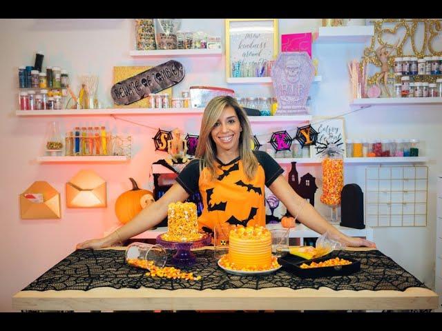 Not Too Spooky Halloween Cake!