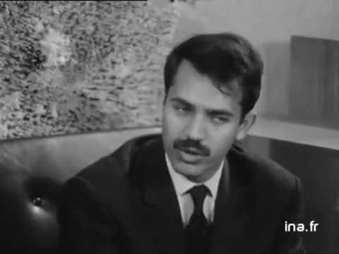 ALGÉRIE interview de Abdelaziz Bouteflika ministre des affaires étrangère.